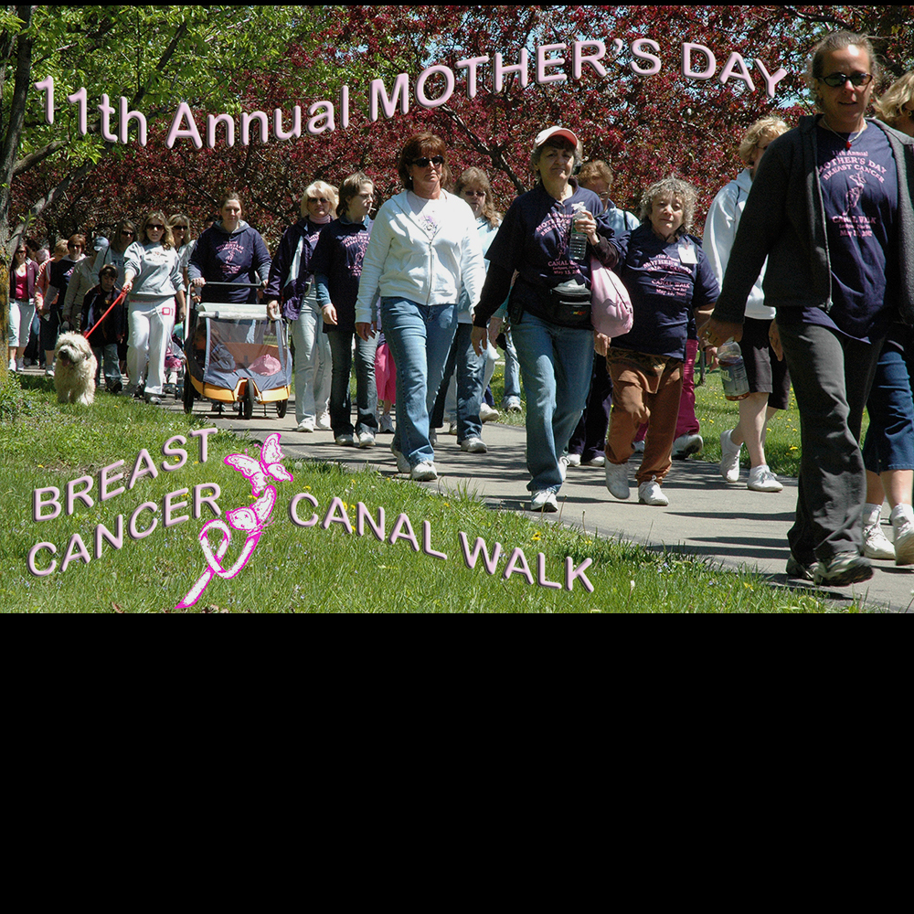 Mother's Day breast cancer walk